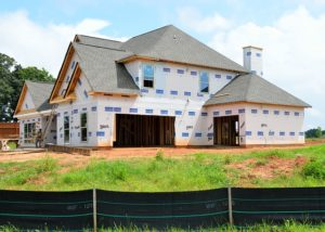 a house under construction, real estate lawyer